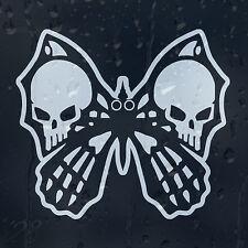 Butterfly Skull Auto Decalcomania Adesivo Vinile per paraurti o finestrino o pannello