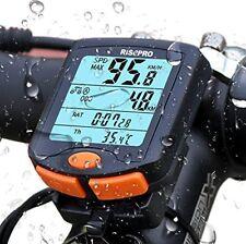 Wireless Bike Computer Speedometer Odometer Waterproof Bicycle Cycling Backlight