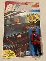 GI Joe 1983 Cobra HISS Tank Driver Moc W Custom Art