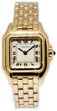Cartier Ladies Panthere 18k Yellow Gold Quartz Watch