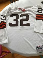 Cleveland Browns Jim Brown NWT Throwbacks long sleeve jersey