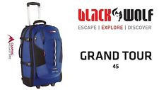 BLACK WOLF GRAND TOUR 45L DAYPACK BUSINESS TRAVEL TROLLEY CARRY ON BAG