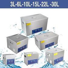 Vaschetta Vasca Ultrasuoni Lavatrice Pulitore ad Ultrasuoni 3L 6L 10L 15L 22 30L