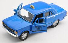 BLITZ VERSAND Fiat 125p TAXI WPT blau / blue 1:34 Welly Modell Auto NEU & OVP