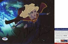 Molly Quinn Signed 8x10 Superman: Unbound Supergirl Winx Club PSA/DNA