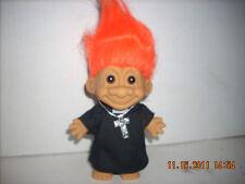 1 Toy Troll Priest Reverend Trolls Doll 1990's  - Mint  New 5 inch