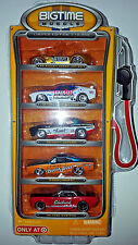 Jada BigTime Muscle Target Gas Pump Set 1:64 Diecast Cars Limited Edition