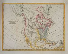 A NEW MAP OF NORTH AMERICA BY ROBERT WILKINSON, CIRCA 1795.