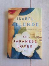 Signed Isabel Allende, The Japanese Lover 1st NrF with DJ
