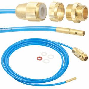 """Rohrreiniger: Hochdruck-Abflussreiniger für M22, M24 & 1/2"""", mit Dichtungen, 3 m"""