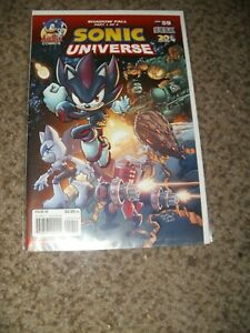RARE SONIC UNIVERSE 59 - SHADOW FALL - COMBINED SHIPPING - NM