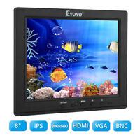 "8"" inch IPS Monitor HDMI Video Audio Display 800x600 for VCD FPV PC Camcorder"
