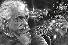 ALBERT EINSTEIN - QUASAR ART POSTER - 24x36 JAMES DANGER HARVEY 3255