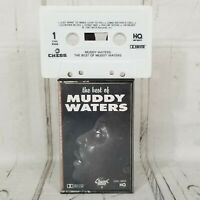 the best of Muddy Waters cassette tape chess mca chc-9255