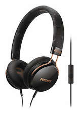 PHILIPS FIXIE CITISCAPE ON-EAR HEADPHONES WITH MIC- BLACK