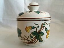 """VILLEROY AND BOCH """"BOTANICA""""  SUGAR BOWL  WITH LID"""
