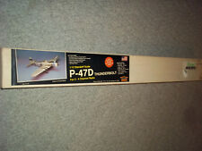 HOUSE OF BALSA P-47 THUNDERBOLT REMOTE CONTROL MODEL AIRPLANE KIT MADE IN USA