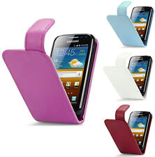 PU Leather Flip Case Cover For Samsung Galaxy Ace 2 i8160