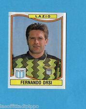 PANINI CALCIATORI 1990/91-Figurina n.186- ORSI - LAZIO -Rec