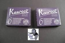 # Kaweco Cartuchos 2 Paquetes Tinta Berenjena nuevo #