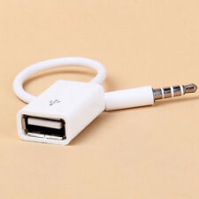 1PC White Car 3.5mm AMI AUX MDI Music Conversion Line For iPhone6 Plus 5 6