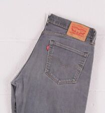 Vintage LEVI'S 511 Grey Slim Straight Fit Men's Jeans W34 L29