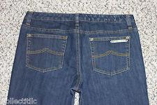 $70 Michael Kors Sausilito Dark Denim Jeans Boot Cut Low Size 8 ~ Measures 31x30