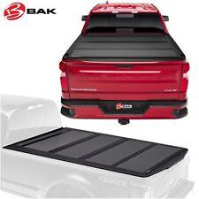 fits 2019 GM Silverado Sierra 5 8 Bed Bak Industries Flip MX4 Hard Folding Truck Bed Tonneau Cover 448130