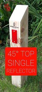 richthepostman verge posts/wooden posts/no dig/no parking/reflectors/chain link