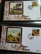 More details for gb uk 6 benham silk 2004 fdc covers x 8 down on the farm