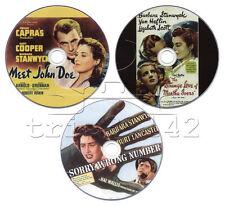 Barbara Stanwyck DVD Collection: Meet John Doe, Sorry Wrong Number, Strange Love