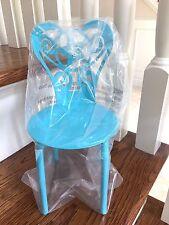 NEW American Girl Gourmet Kitchen Blue Metal Chair