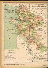 ATLAS départemental France et Colonies 200 cartes en couleurs Lesot vers 1900