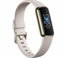 FITBIT Luxe Fitness Tracker - Lunar White & Soft Gold Universal - Currys
