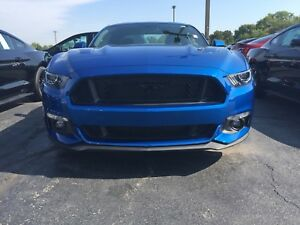 2015-2017 Mustang Ford 5.0L GT OEM Upper & Lower Grille ONLY - No Emblem Grille