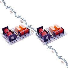 WEB WF-2801 COPPIA CROSSOVER PROFESSIONALI 2 VIE 280W IDEALI x CIARE IMPACT
