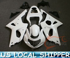 Injection Molded Fairing Set Bodywork for SUZUKI GSXR 1000 2001 2002 Unpainted