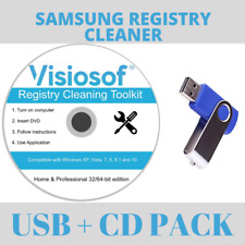 SAMSUNG Registry Cleaner Software Windows 10 8 7 XP VISTA PC Repair Errors USB