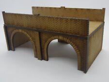 N Gauge Laser Cut MDF 2 Arched Bridge or Tunnel N-SCENIC