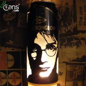 Harry Potter Beer Can Lantern! Daniel Radcliffe, Pop Art Lamp, Unique Gift!