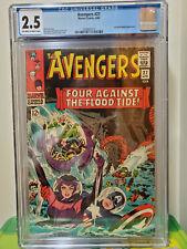 Avengers #27 CGC 2.5 Marvel COMICS 1966 Attuma and Beetle Appearance.