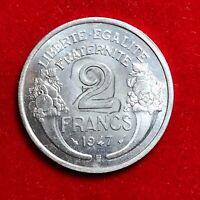#1765 - RARE - 2 francs 1947 B Morlon ESSAI ? SPL/FDC  FACTURE
