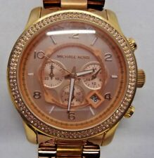 45a488d298d1 Michael Kors MK5576 Rose Gold Tone Analog Watch Size 6 1 4