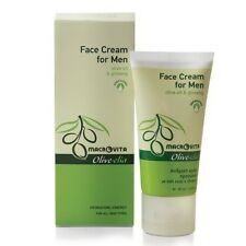 Olivelia Face Cream for Men, Greek Organic Olive Oil, Ginseng & Aloe Vera, 50ml.