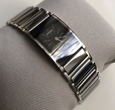 Genuine ladies Rado Integral Designer watch Black  Rectangular R20786159