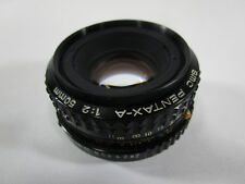 SMC Pentax-A 1:2 50mm f/2 Manual Focus Prime Lens