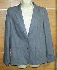 GANT grey wool blend jacket size 14