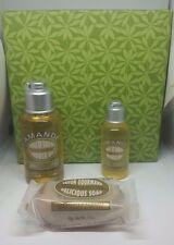 NIB L'Occitane Amande Almond Oils 3.5oz , & Soap 1.7oz w/Gift Box Set!