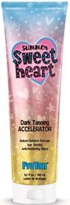 Pro Tan Summer Sweet Heart Dark Tanning Sunbed Accelerator Lotion Cream + GIFT