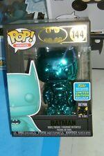 Pop Batman 144 Chrome Bleu Neuf
